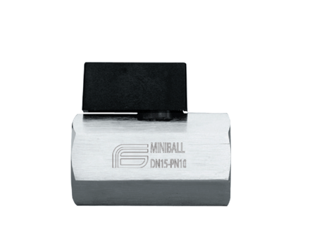 Kúluloki Miniball fyrir loft og vatn